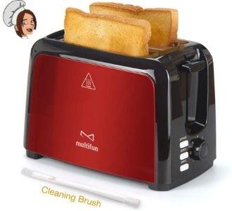 Multifun Stainless Steel Toaster